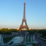Париж Эйфелева башня 1
