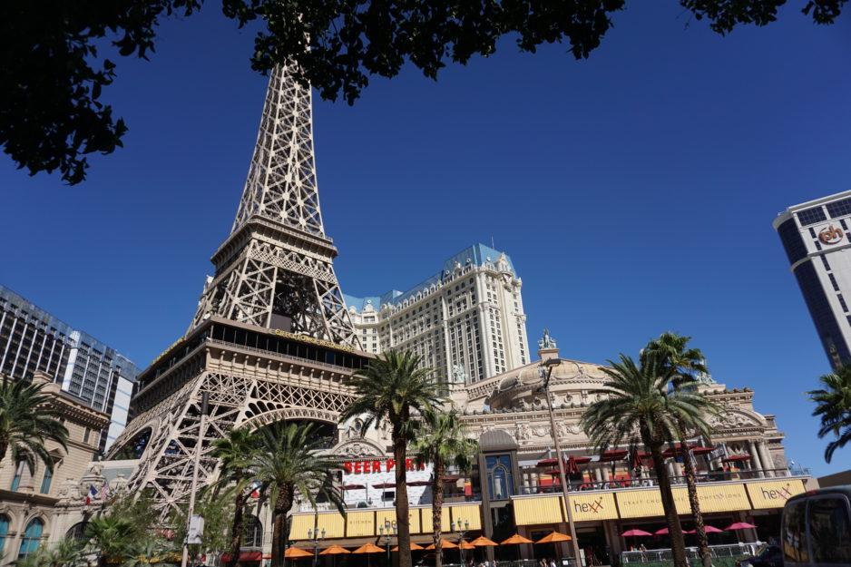 Копия Эйфелевой Башни в Лас Вегасе